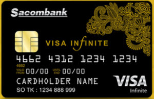 the tin dung Sacombank Visa Infinite